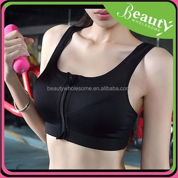Nylon sports bra hot selling ,MY035 2016 new style women yoga clothes sport bra