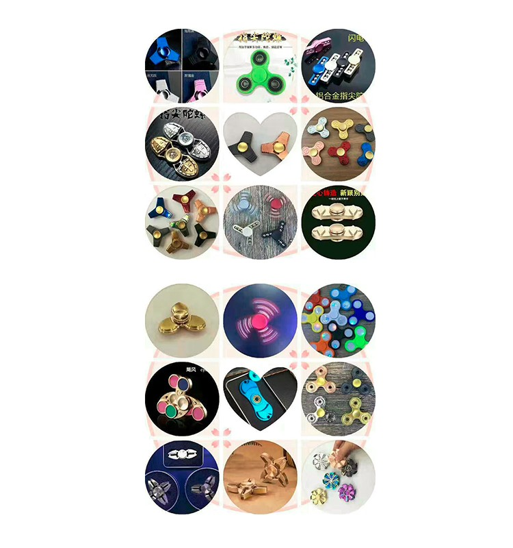 Fast Ring stone Spinner hand Finger spinner Anti Stress Toys for Kids & AdultsDirt Resistant Fidget Spinner
