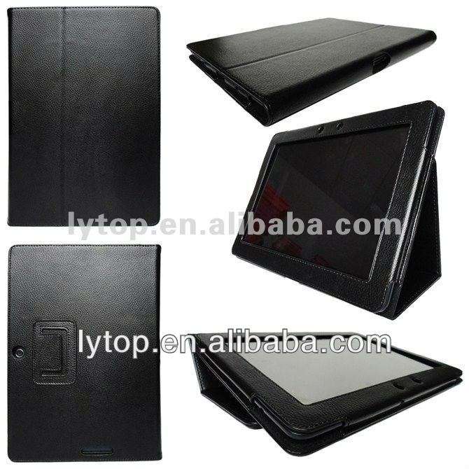 leather flip case for samsung galaxy tab 2 10.1 p5100 p5110