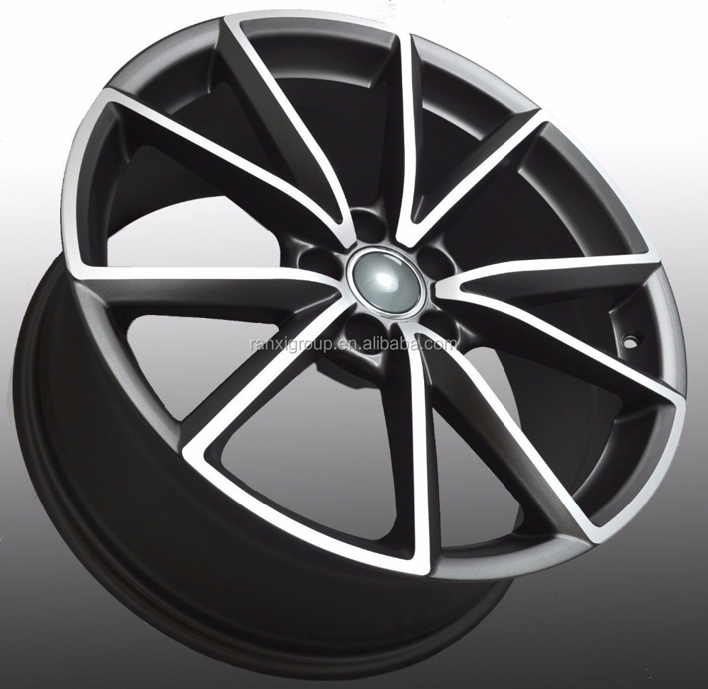 Aluminum Material and Customized PCD brand alloy wheels