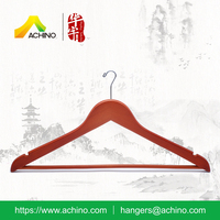 Wooden Hotel Anti Theft Hanger AHWMH105