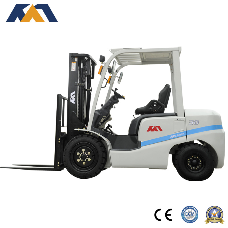 Promotional 3 ton forklift price with Mitsubishi engine for sale