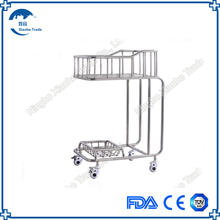 Wholesale stainless steel hospital Cart Infant Bed