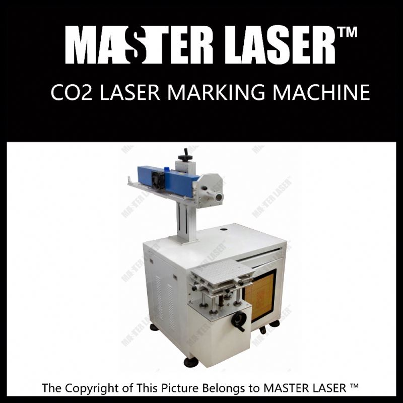 New Design qr code laser engraving machine