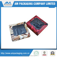 Printed luxury carton folding paper boxes for cosmetic gift packaging