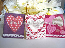 Wedding invitation favor cards