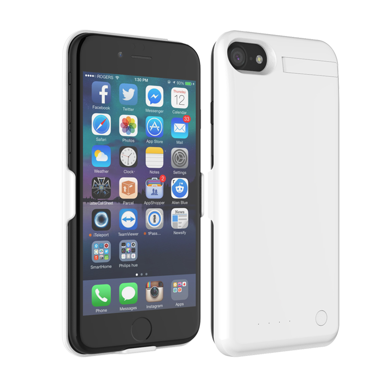 new Lithium ion polymer battery 4000mah battery case for Iphone 7 plus Iphone 6/6s plus