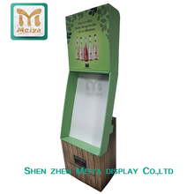 Retail High Quality Clothes Cardboard Display Pedestal for Shop