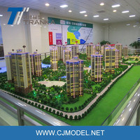 1 : 100 scale model building for real estate company , architectural scale model making
