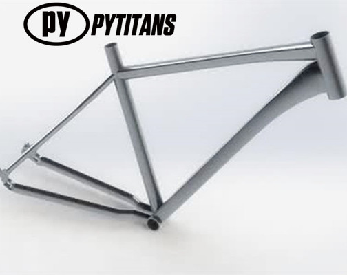 2017 best selling titanium Road Bike Frame grade 9 spring for metal engraving