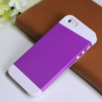 slim armor combo case for iphone 5 back housing yezone