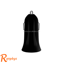 Ranphys hot selling cheap single USB car charger charge point for mobile phone
