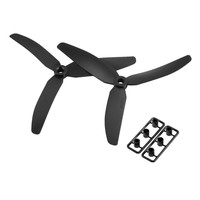 Gemfan Carbon Fiber 5 X 3 5030 2 CW 2 CCW Three Blade Quadcopter Propellers