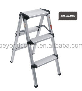 3 step aluminum ladder/aluminum folding ladder/adjustable step ladder