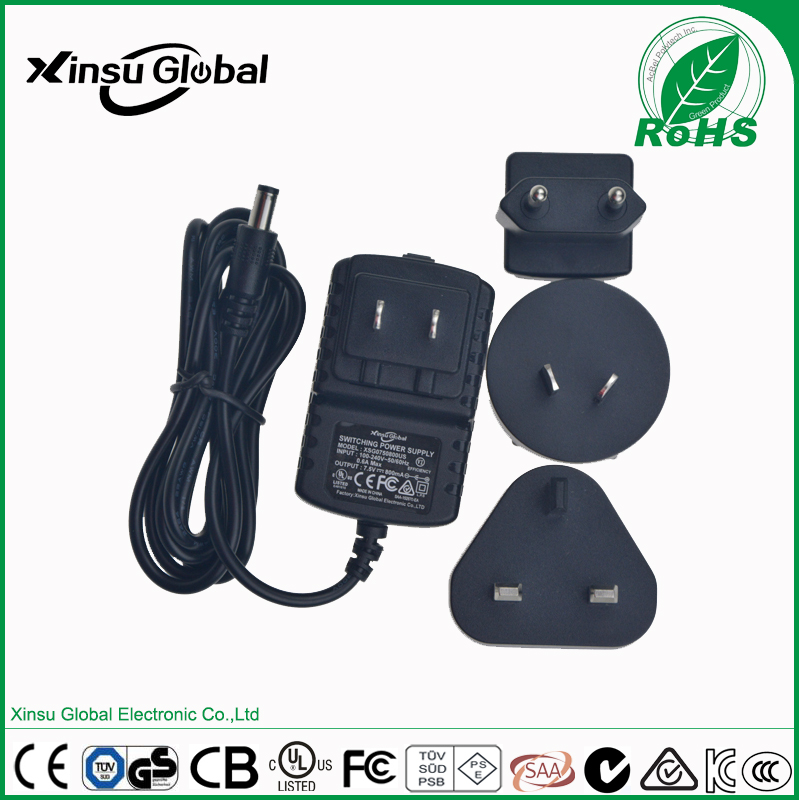 multiple plugs 16.8V lithium battery charger 2A 1.8A 1.5A 1.2A 1A