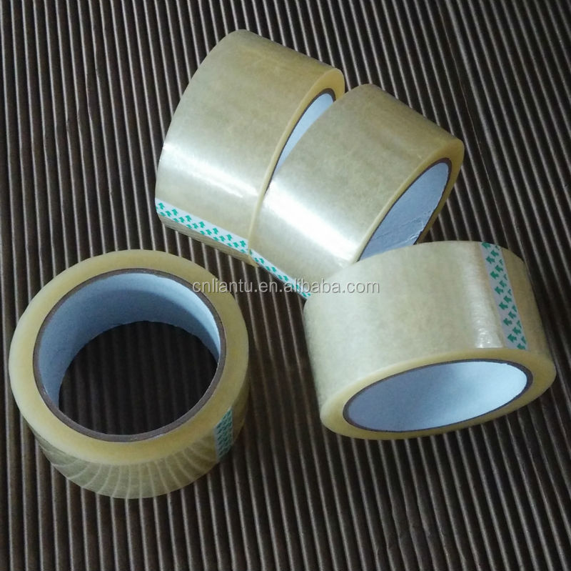 Acrylic &adhesive clear or brown bopp tape