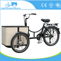 manpower pedal cargo tricycle for sale