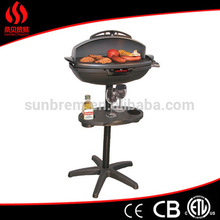 Non Stick Coating Surface Electric Barbecue Grill with CE/EMC/LVD/ERP Certification