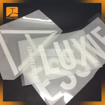 Custom Heat Transfer Vinyl Paper Sheet Plastisol Heat Transfer Print For Garment