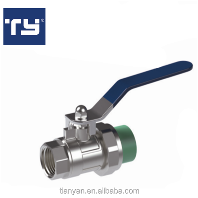 Best selling products good price OEM PPR fitting tube PPR FEMALE BALL VALVE