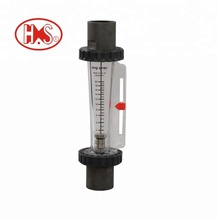 industry electroplating Plastic Water Flow Meter KINGSPRAY Rotameter