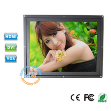 open frame TFT color 12 inch LCD monitor HDMI VGA DVI for industrial/medical