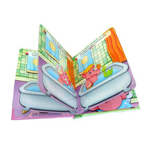Offset Printing Eco friendly overseas Cheap Children Book Printing