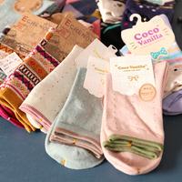 Best quality nice design soft brand lady socks manufacture
