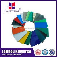 Alucoworld ACP 1220*2440 Standard and Customized ACM Panels thermowood cladding