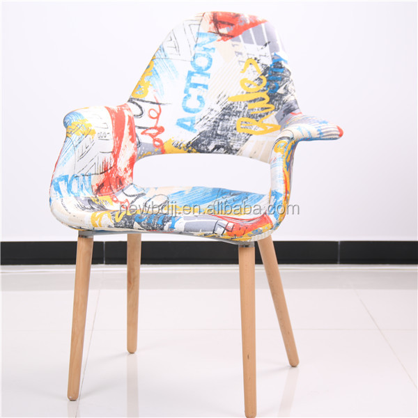 Fabric chair,new fabric dining chair,fabric chair with wood leg