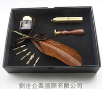 Excellent Grade Ballpoint Feather Quill Pen