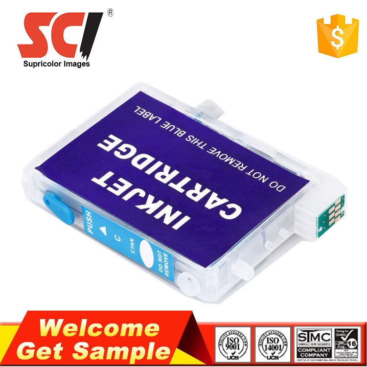 Supricolor New hot Refillable T0771-T0776 Ink cartridge for Epson RX 580 printer