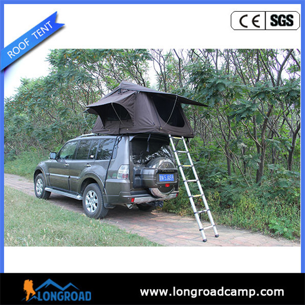 small camping trailers solar tent with fan and light