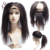 Remy Human Hair Kinky Straight Weave 360 Lace Frontal Closures Unit