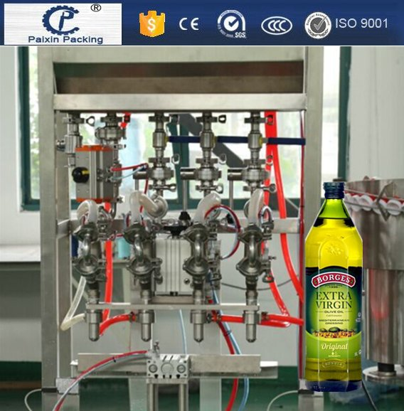 Easy operation save space sunflower/olive oil bottles filling machine Automatic grade