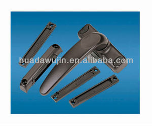 Black color cheap window door handles