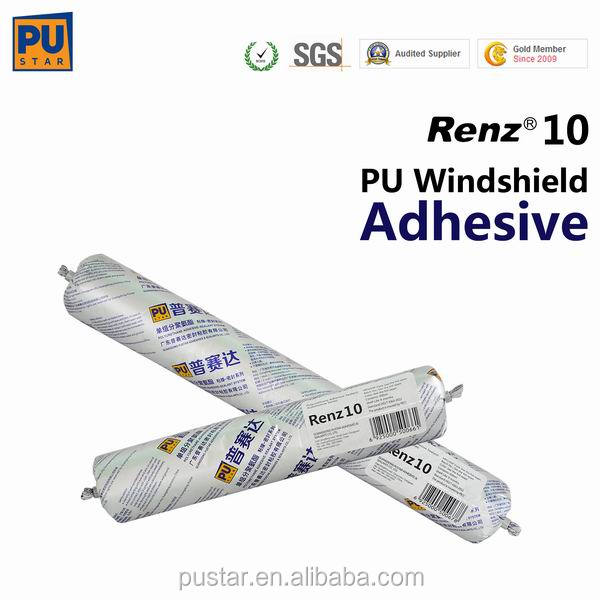Polyurethane (PU) Adhesive Sealant for Windscreen Bonding, sealing PU sealant better than Silicone