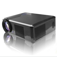 LED Lamp HD Projector LCD Panel Home Theater Cinema support 1080p TV AV