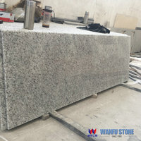Best quality cheap prefab brazil white rose granite kitchen countertop