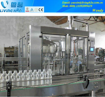 2015 Newly atuomatic bottled pure water filling machine price
