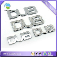 Hot!! Luxury 3D Crystal ABS Car Logo Emblems