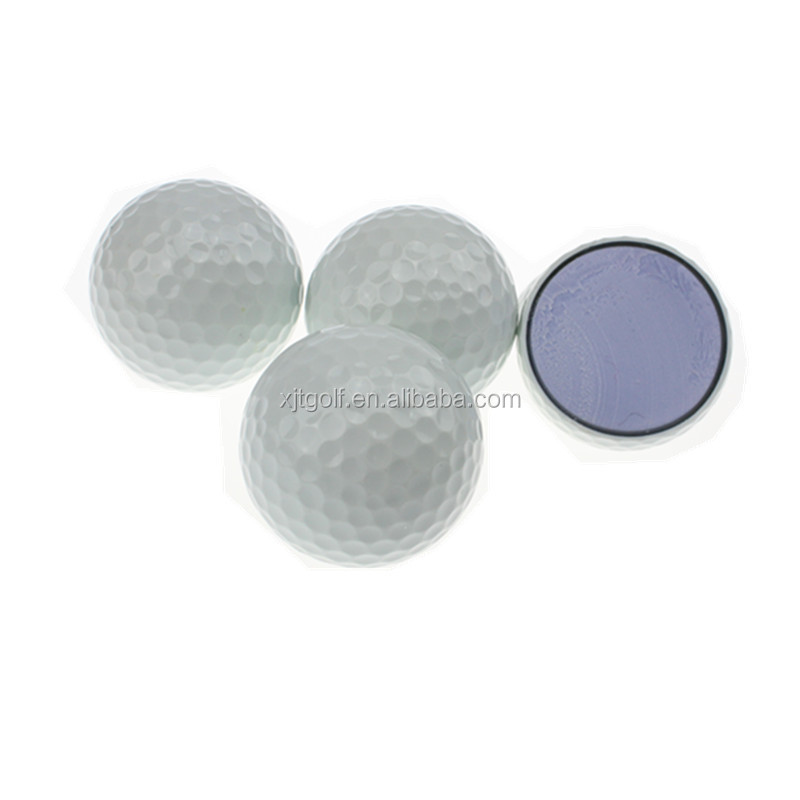 Promotional custom logo three layer golf ball