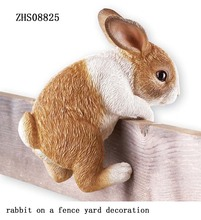 2017 Resin Rabbit for Garden Decoration Outdoor Animal Rabbit for Garden Decoration Statues