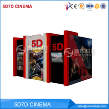 Factory supplier interactive Hydraulic Electric System 5D projector cinema prices home theater 5D