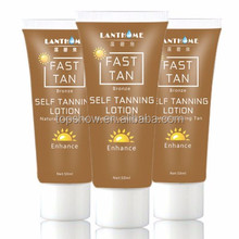 fast tan bronze self tanning lotion natural looking enhance