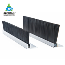 Dust Cleaning Draught Sealing Brush Strip Sliding Door Sweep Wire Brush