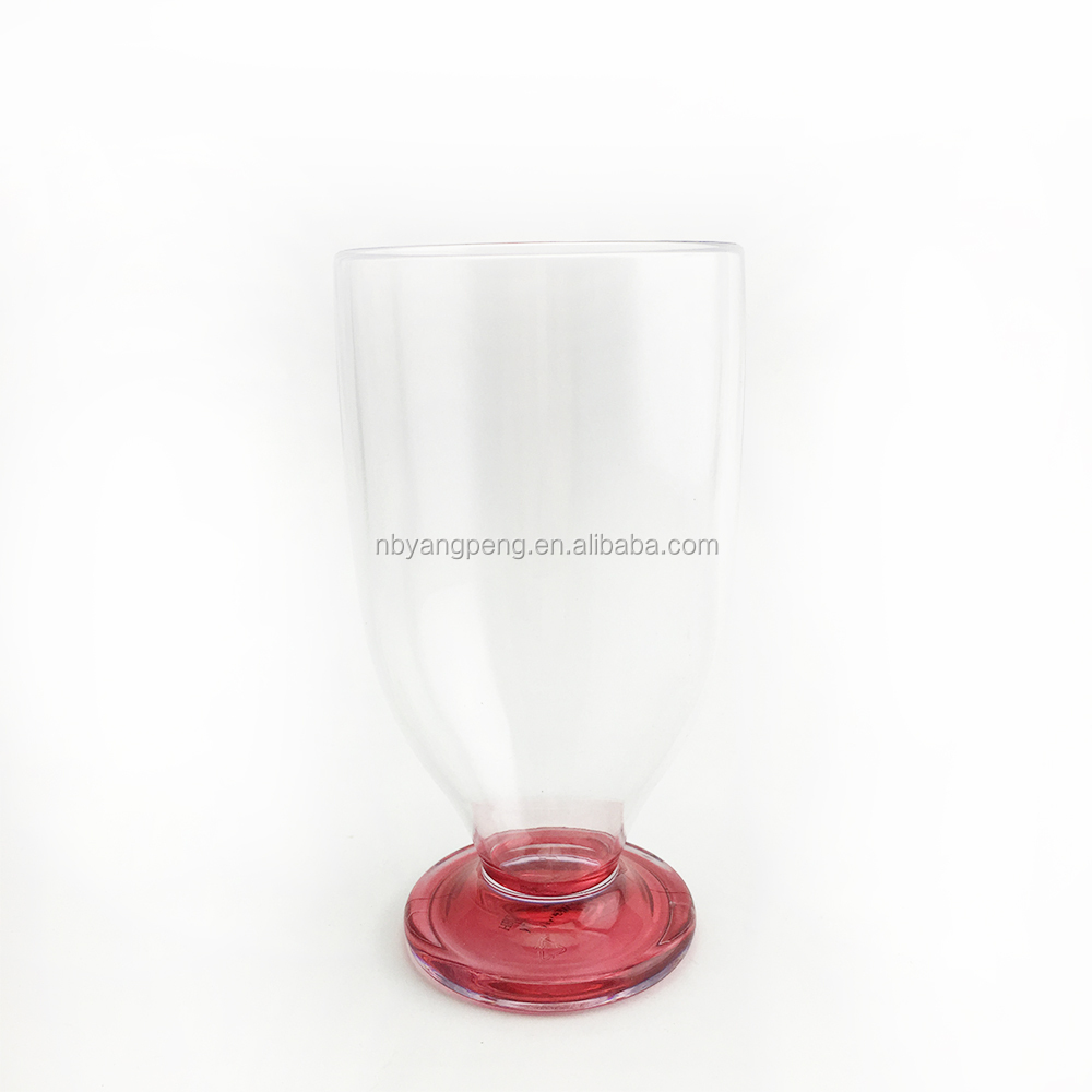 Manufacturer plastic drinking cup durable plastic wine cup