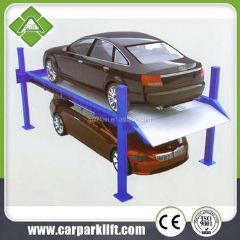 Hydraulic four post car parking lift garage kits for sale for 3 car garage kits for sale