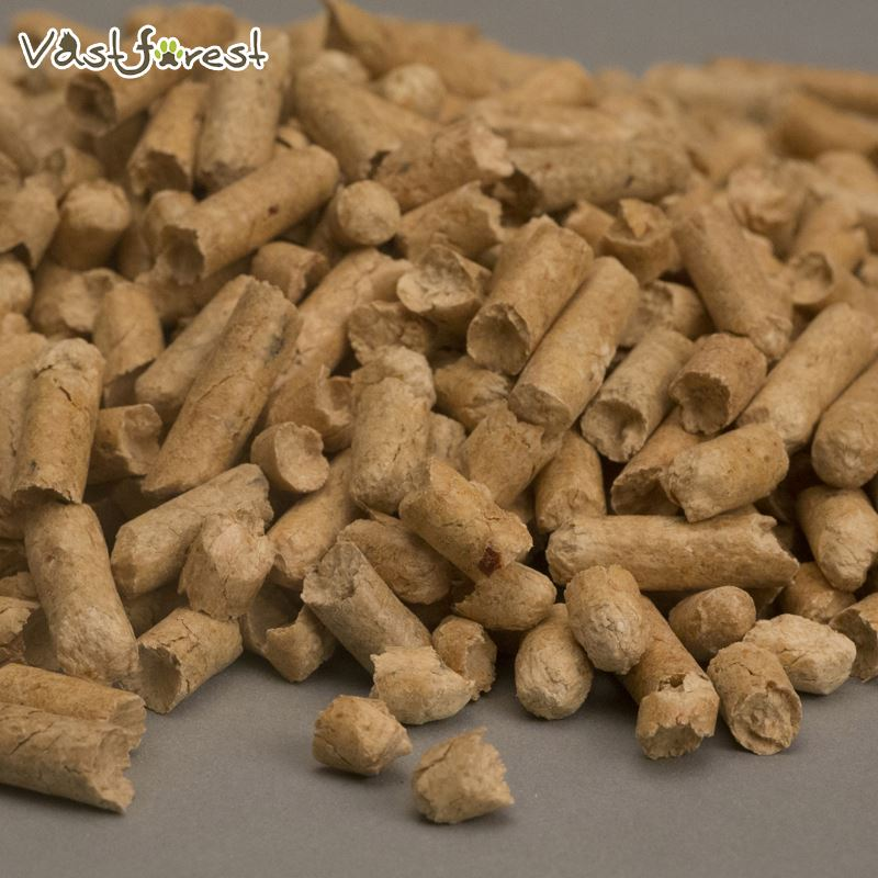 Pet services no dust low tracking pine wood pellets pet litter