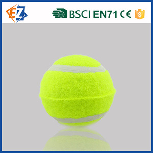 Custom Made Rubber Tennis Ball in Yellow